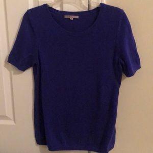 Gap Dark Blue Short Sleeve Sweater